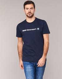 vaatteet Miehet Lyhythihainen t-paita Puma BMW MSP LOGO TEE Laivastonsininen