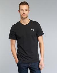 vaatteet Miehet Lyhythihainen t-paita Puma ESS TEE Black