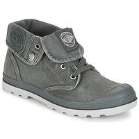 kengät Naiset Bootsit Palladium BAGGY LOW LP F Grey