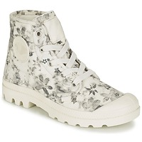 kengät Naiset Bootsit Palladium US PAMPA HI F ECRU