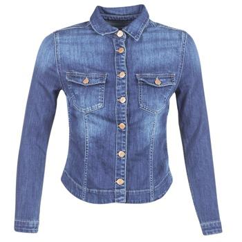 vaatteet Naiset Farkkutakki Le Temps des Cerises LILLYM Blue