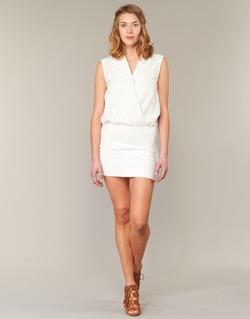 vaatteet Naiset Lyhyt mekko Le Temps des Cerises SHERY White
