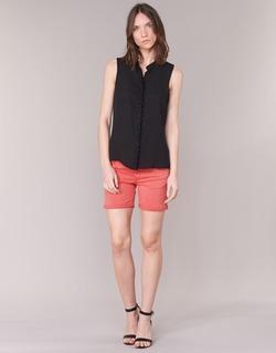 vaatteet Naiset Shortsit / Bermuda-shortsit Le Temps des Cerises JANKA Corail