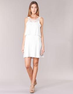 vaatteet Naiset Lyhyt mekko Molly Bracken SAMARC Ivory