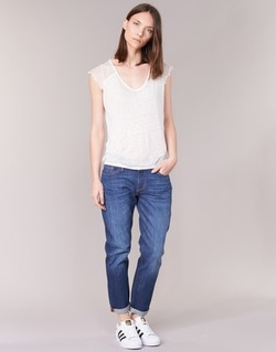 vaatteet Naiset Boyfriend-farkut Levi's 501 CT Blue