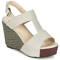kengät Naiset Sandaalit ja avokkaat Café Noir CHANVIO Beige