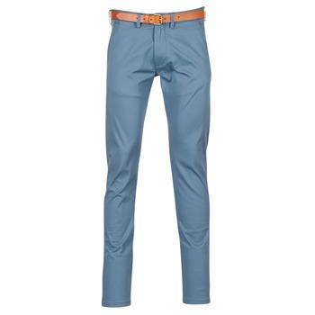 vaatteet Miehet Chino-housut / Porkkanahousut Selected HYARD Blue