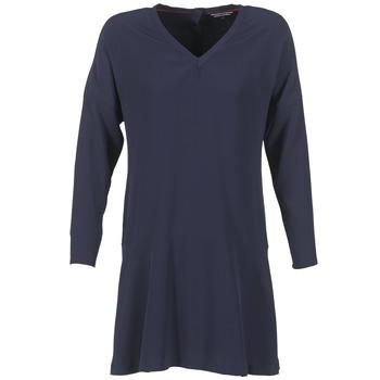 vaatteet Naiset Lyhyt mekko Tommy Hilfiger GRETA Laivastonsininen