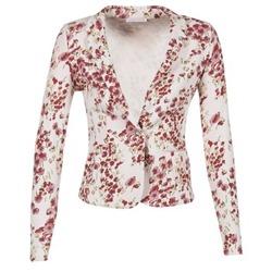vaatteet Naiset Takit / Bleiserit Les P'tites Bombes OSIDOULE White / Red