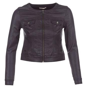 vaatteet Naiset Farkkutakki Les P'tites Bombes OMILATE Black