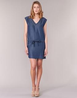 vaatteet Naiset Lyhyt mekko Les P'tites Bombes GUELOFI Blue