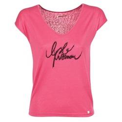 vaatteet Naiset Lyhythihainen t-paita LPB Woman CHOUBERNE Pink