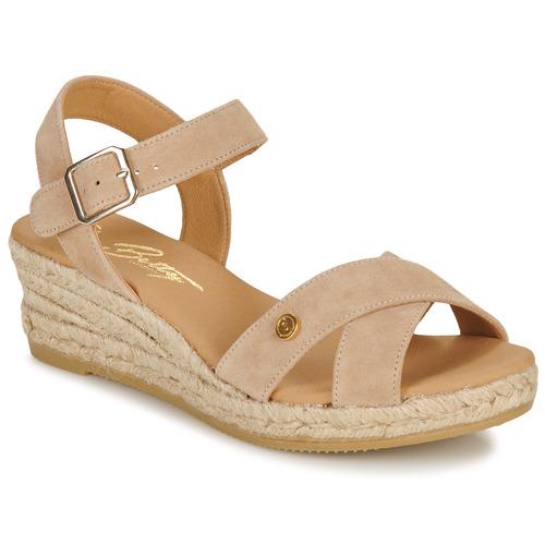kengät Naiset Sandaalit ja avokkaat Betty London GIORGIA Taupe