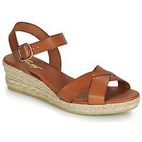 kengät Naiset Sandaalit ja avokkaat Betty London GIORGIA Camel