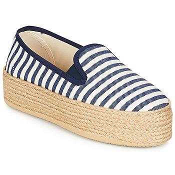 kengät Naiset Espadrillot Betty London GROMY Laivastonsininen / Valkoinen