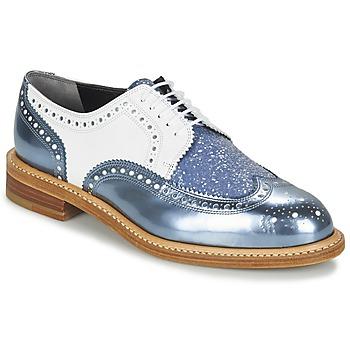 kengät Naiset Derby-kengät Robert Clergerie ROELTM Blue / Metallinen / White