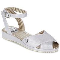 kengät Naiset Sandaalit ja avokkaat Miss L'Fire HARLOW Silver