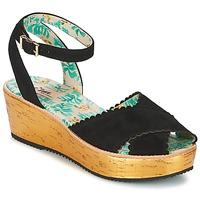 kengät Naiset Sandaalit ja avokkaat Miss L'Fire MARCIE Black