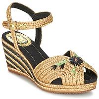 kengät Naiset Sandaalit ja avokkaat Miss L'Fire RENEE Gold