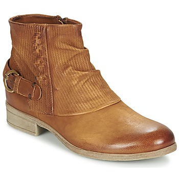 kengät Naiset Bootsit Dream in Green GISCOTTO Brown / Camel