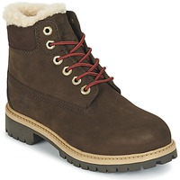 kengät Lapset Bootsit Timberland 6 IN PRMWPSHEARLING Ruskea