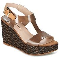kengät Naiset Sandaalit ja avokkaat Spiral PAULA Brown