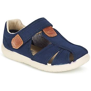 kengät Pojat Sandaalit ja avokkaat Citrouille et Compagnie GUNCAL Laivastonsininen