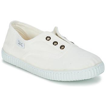 kengät Lapset Matalavartiset tennarit Citrouille et Compagnie GAMBOUTA White
