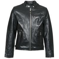 vaatteet Miehet Nahkatakit / Tekonahkatakit Schott LC 940 D Black