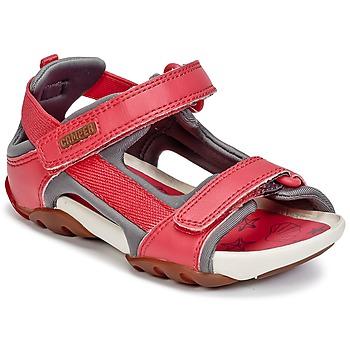kengät Tytöt Sandaalit ja avokkaat Camper OUS Red