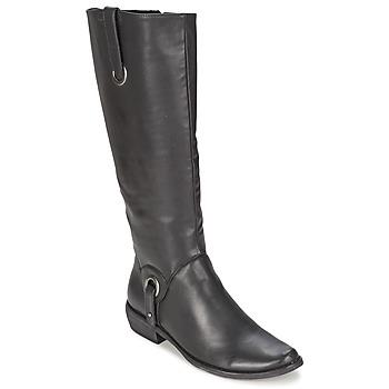 kengät Naiset Saappaat Les P'tites Bombes ADAGIO Black