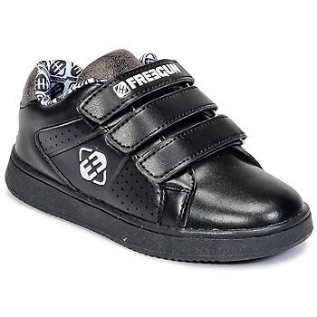 kengät Lapset Matalavartiset tennarit Freegun FG ULSPORT Black / White