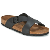 kengät Miehet Sandaalit Birkenstock TUNIS Musta