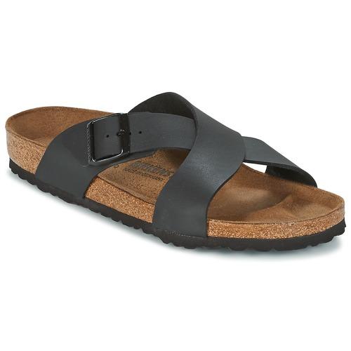 kengät Miehet Sandaalit Birkenstock TUNIS Black