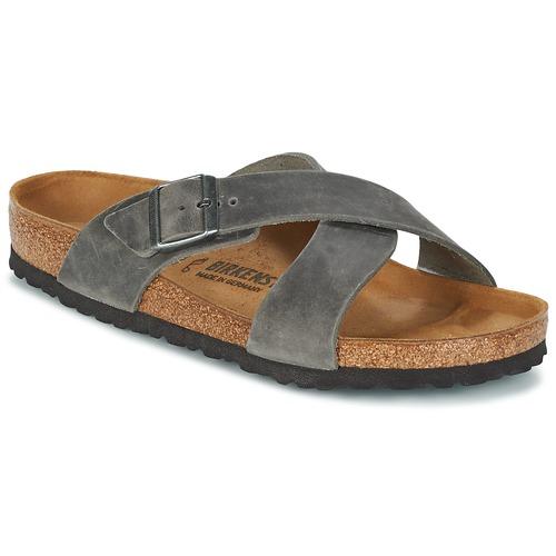 kengät Miehet Sandaalit Birkenstock TUNIS Grey