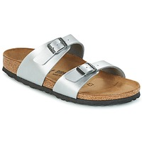 kengät Naiset Sandaalit Birkenstock SYDNEY Silver
