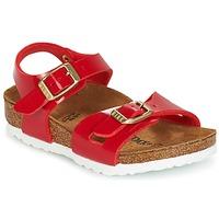 kengät Lapset Sandaalit ja avokkaat Birkenstock RIO Red