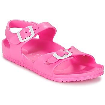 kengät Lapset Sandaalit ja avokkaat Birkenstock RIO EVA Pink