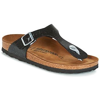 kengät Lapset Varvassandaalit Birkenstock GIZEH Black