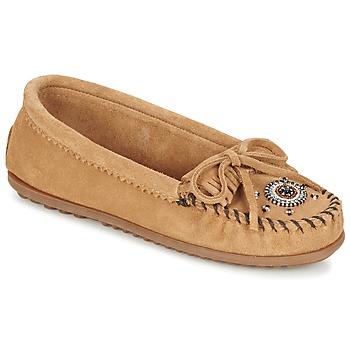 kengät Naiset Mokkasiinit Minnetonka ME TO WE MOC Taupe