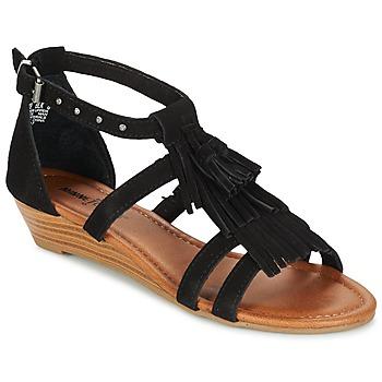 kengät Naiset Sandaalit ja avokkaat Minnetonka MARINA Black