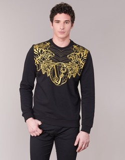 vaatteet Miehet Svetari Versace Jeans B7GPB7F0 Black