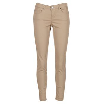 vaatteet Naiset 5-taskuiset housut Vero Moda BUENO Beige