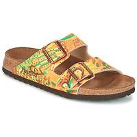 kengät Naiset Sandaalit Papillio ARIZONA Yellow / Green