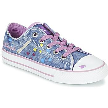 kengät Tytöt Matalavartiset tennarit Tom Tailor JIJAA Blue / Violet