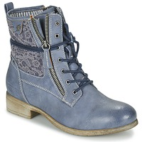 kengät Naiset Bootsit Tom Tailor RELOUNI Blue