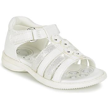 kengät Tytöt Sandaalit ja avokkaat Chicco CAROTA White / Silver