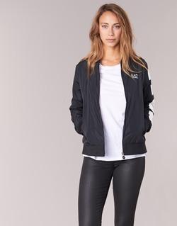 vaatteet Naiset Pusakka Emporio Armani EA7 TRAIN MASTER Black