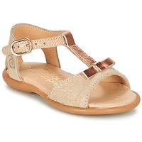 kengät Tytöt Sandaalit ja avokkaat Citrouille et Compagnie GUGULE Gold