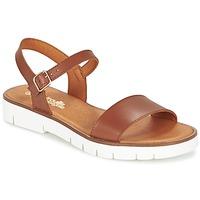 kengät Tytöt Sandaalit ja avokkaat Citrouille et Compagnie GLAPOTI Camel